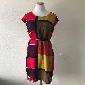 LOFT Dresses - LOFT Geometric Shift Dress